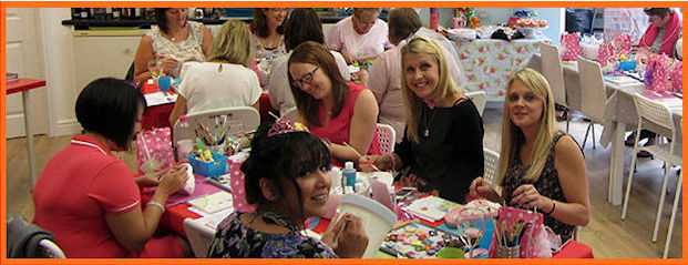 Hen Party Ideas For Small Groups: Adults, Hens And Ladies Parties - The Pottery Shed